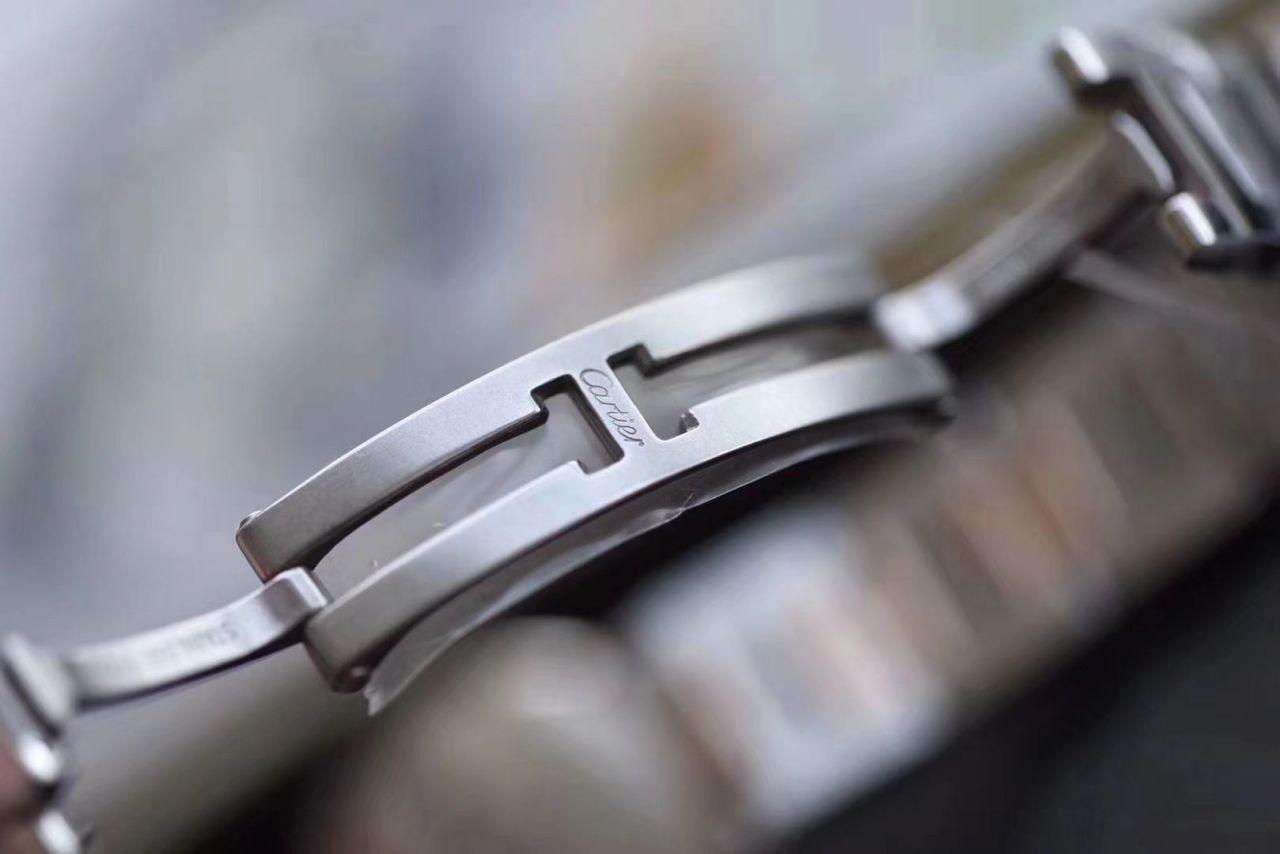 【最好的复刻手表V6厂蓝气球28mm最新升级版本】卡地亚蓝气球系列W3BB0005女士28毫米腕表 / K219