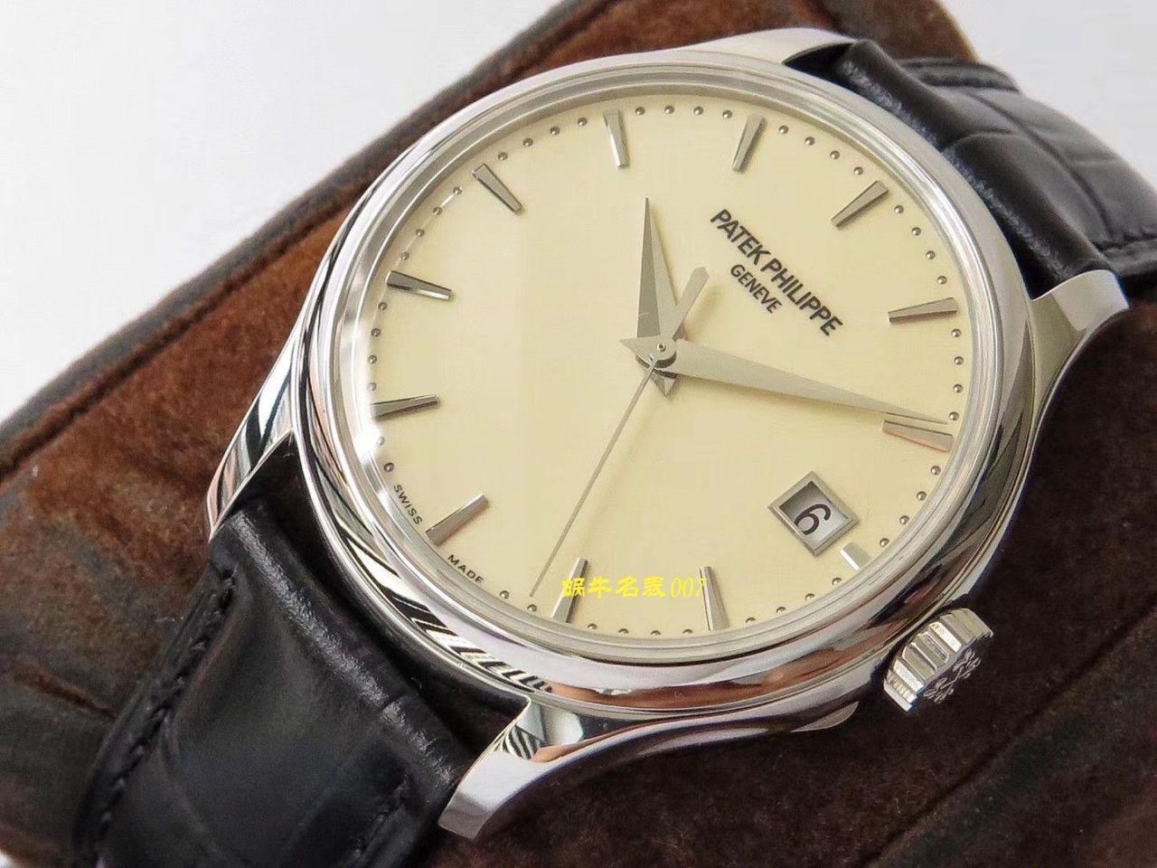 【ZF厂百达翡丽仿表多少钱】百达翡丽古典表系列5227G-001腕表