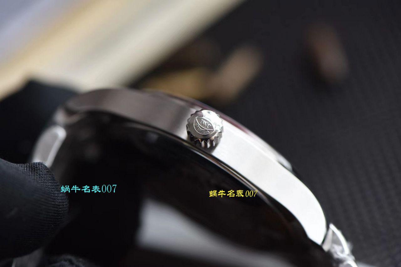 【视频评测V7厂马克十八钢带版】复刻表在哪买IWC万国表飞行员系列IW327002腕表