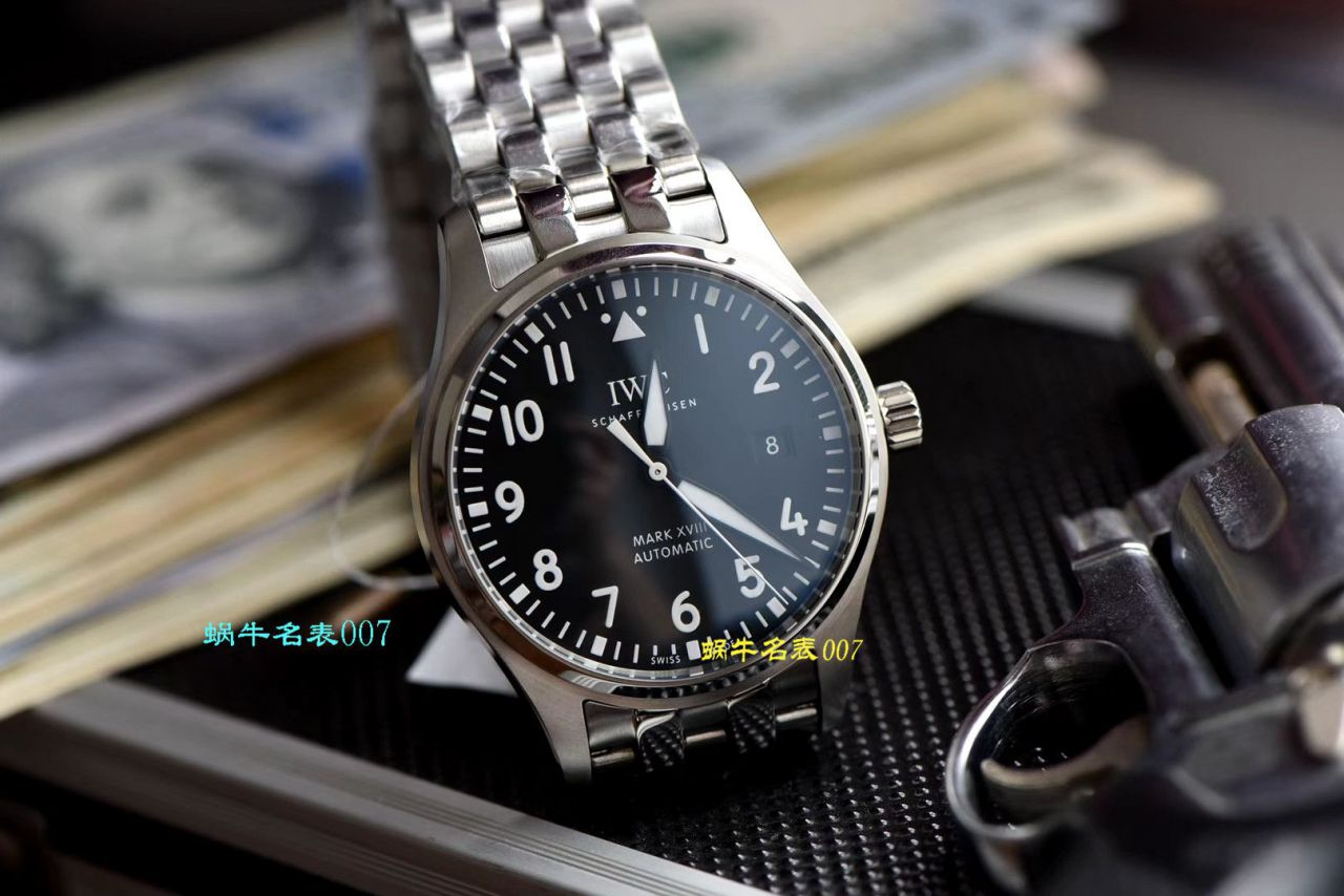 【视频评测V7厂马克十八】IWC万国表飞行员系列IW327011腕表(复刻表哪款仿得最真)