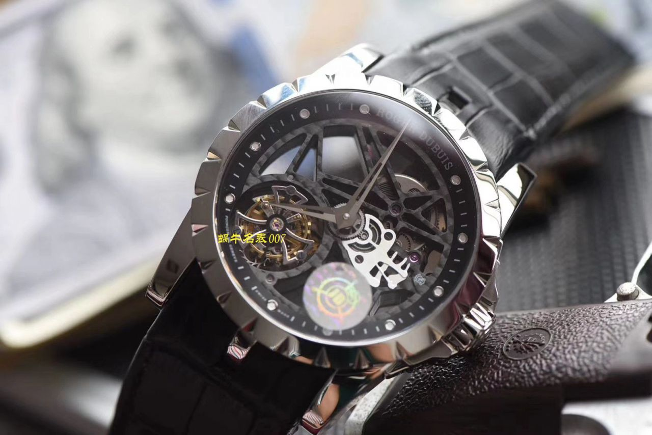 【JB厂一比一复刻陀飞轮手表】罗杰杜彼EXCALIBUR王者系列RDDBEX0260、RDDBEX0393腕表 / LJ030