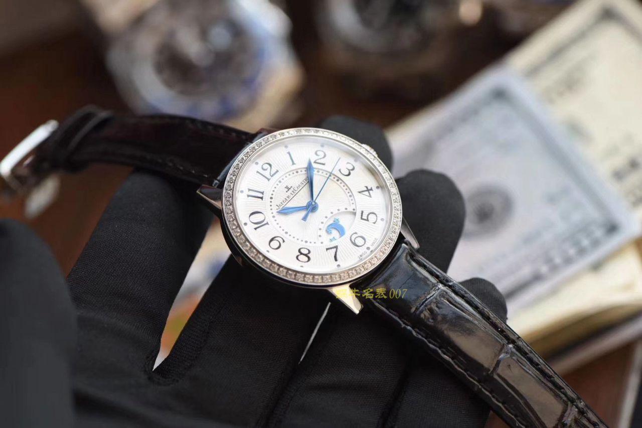 【视频评测ZF厂积家复刻表】Jaeger-LeCoultre积家约会系列3448480女士腕表