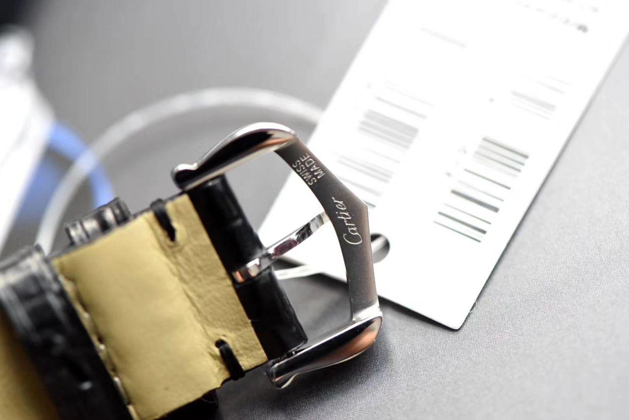 【视频评测XF厂什么叫复刻表】卡地亚山度士系列WSSA0022(大号)WSSA0023(小号)腕表