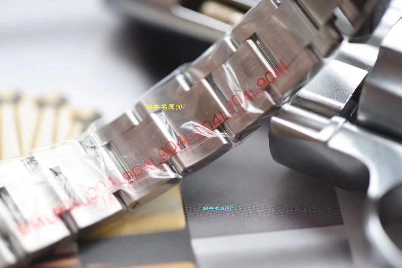 【视频评测仿劳力士男表价格】DJ厂电脑纹面劳力士日志型36系列m116234-0122腕表 / R329