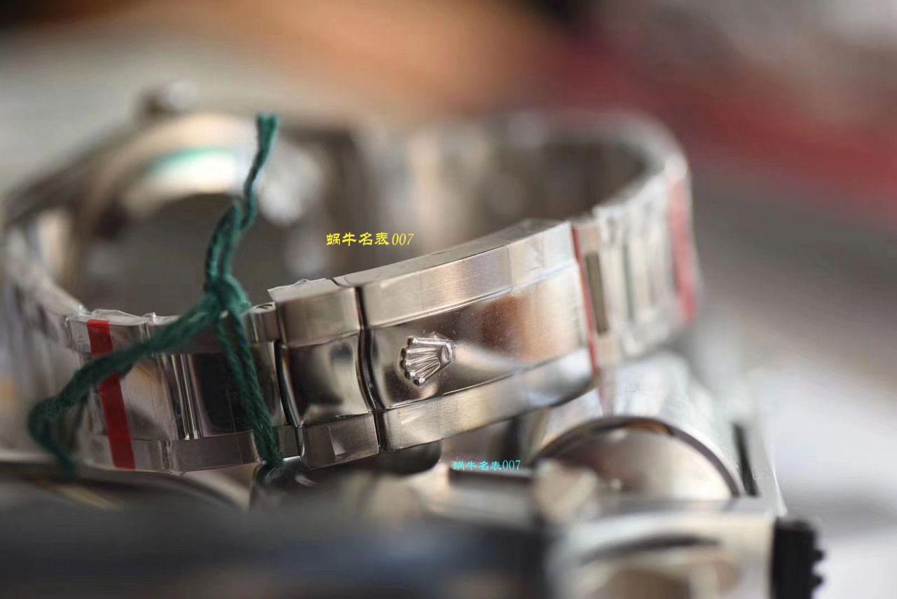 【复刻劳力士男表价格】视频评测DJ厂劳力士日志型36毫米系列116234白盘腕表 / R239