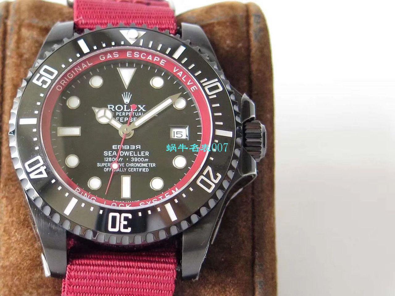 【VR厂复刻劳力士红魔】SEA深潜系列BAMFORD WATCH海外定制版腕表