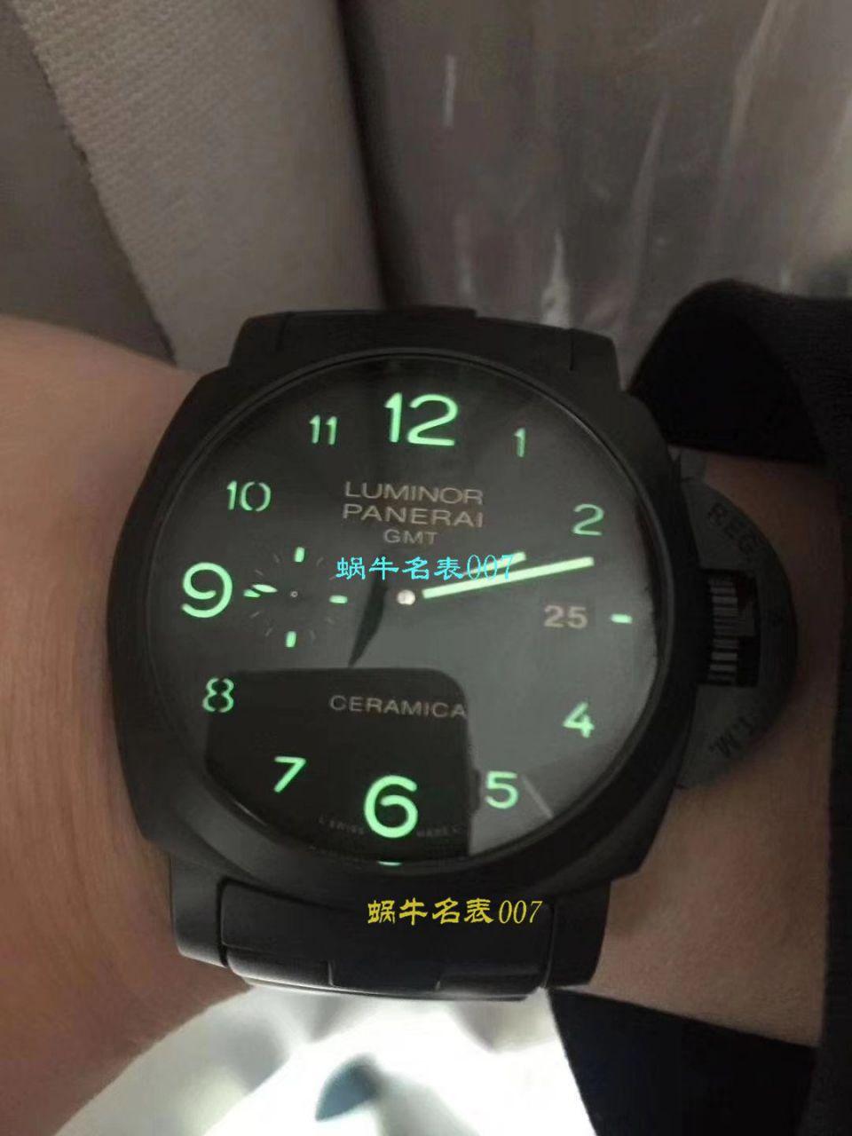 视频评测沛纳海LUMINOR 1950系列PAM00438腕表一比一复刻【VS出品沛纳海PAM00438手表V2版本】