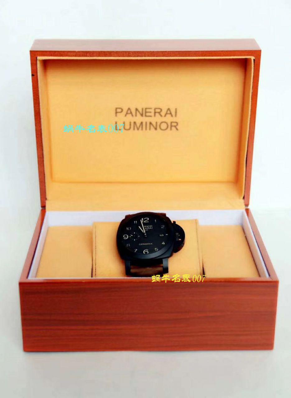 【视频评测VS厂一比一超A高仿手表】沛纳海LUMINOR 1950系列PAM00441男表