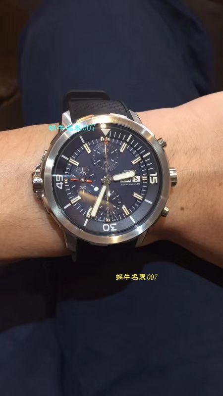 【独家视频测评一比一超A高仿手表】万国海洋时计CHRONOGRAPH计时系列 IW376804腕表