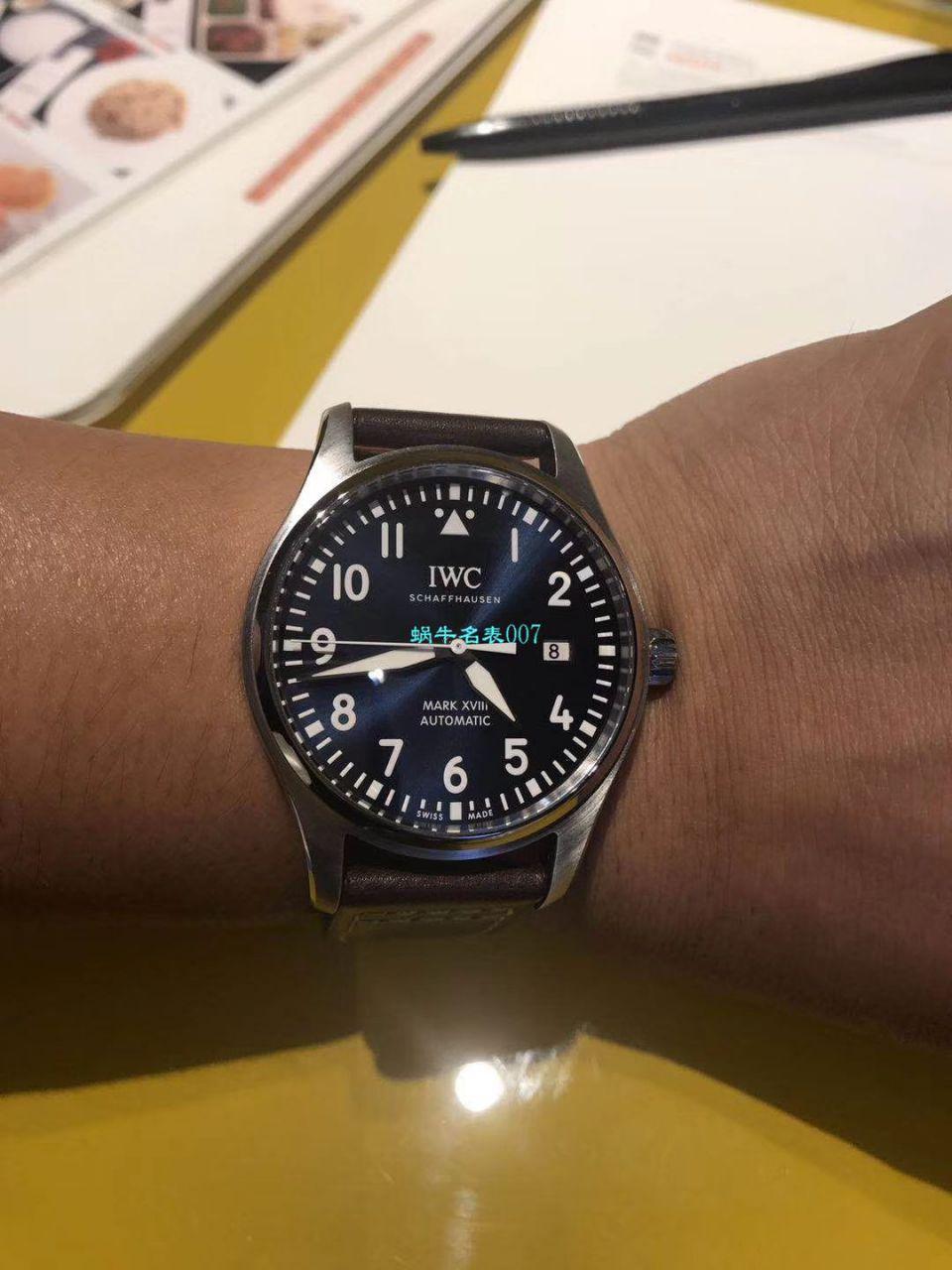 IWC万国表飞行员马克十八系列IW327002腕表【V7一比一超A精仿手表】