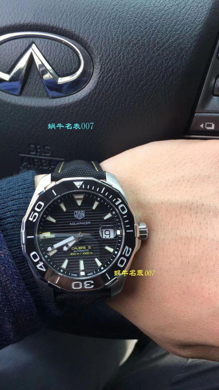 【视频评测原单牛货】泰格豪雅竞潜系列WAY201B.BA0927腕表,WAY201A.BA0927双色