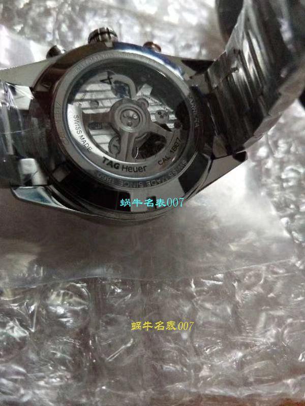 【视频评测HBBV6一比一超A高仿手表】泰格豪雅Tag Heuer卡莱拉系列CV2A10.BA0796腕表 / TGBD052
