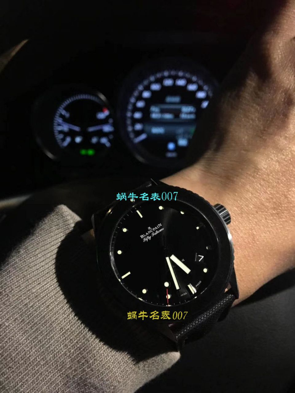 【GF一比一超A高仿手表】宝珀五十噚系列5000-1230-B52A腕表