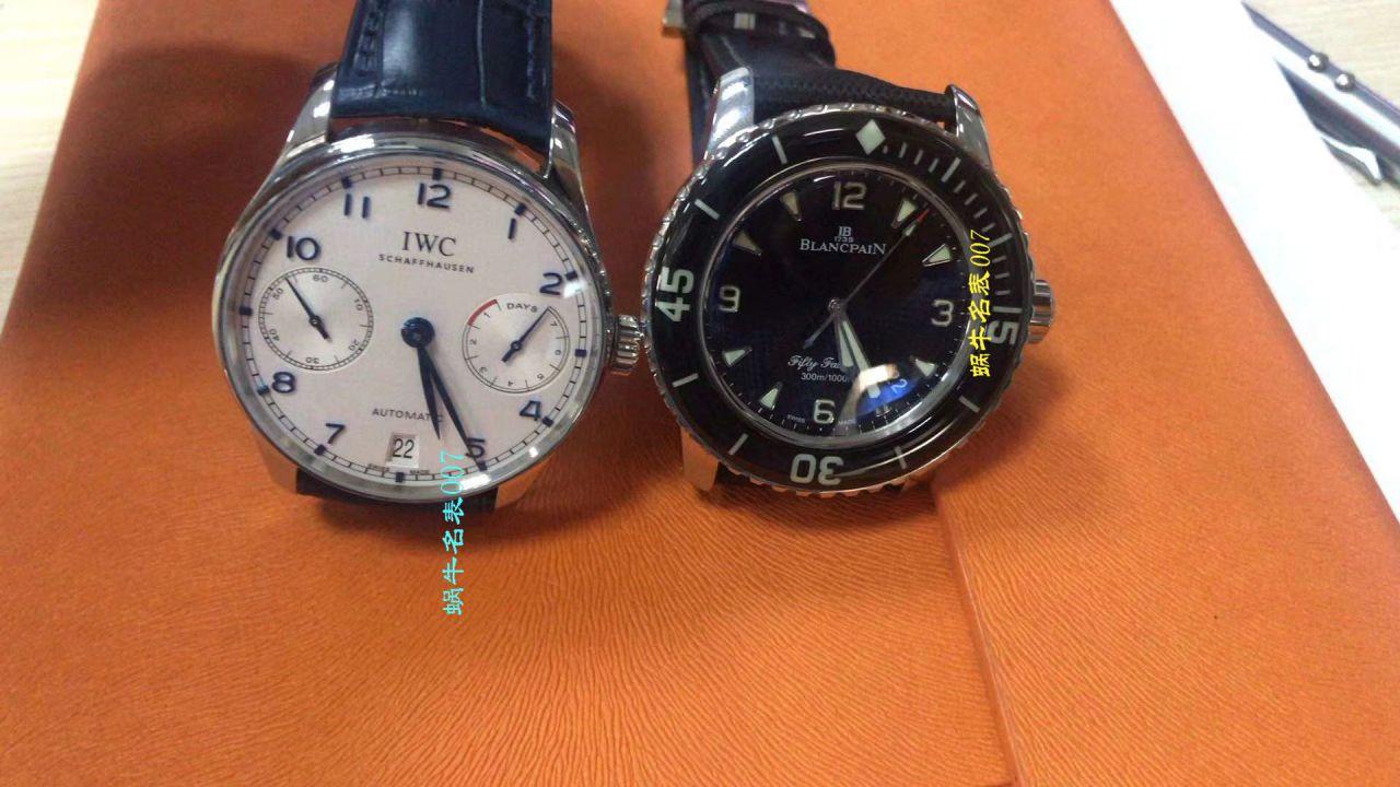 【ZF一比一超A高仿手表】宝珀五十噚系列5015-12B40-O52A蓝面背透腕表