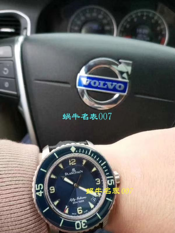 【ZF一比一超A高仿手表】宝珀五十噚系列5015-12B40-O52A蓝面背透腕表 / BP038