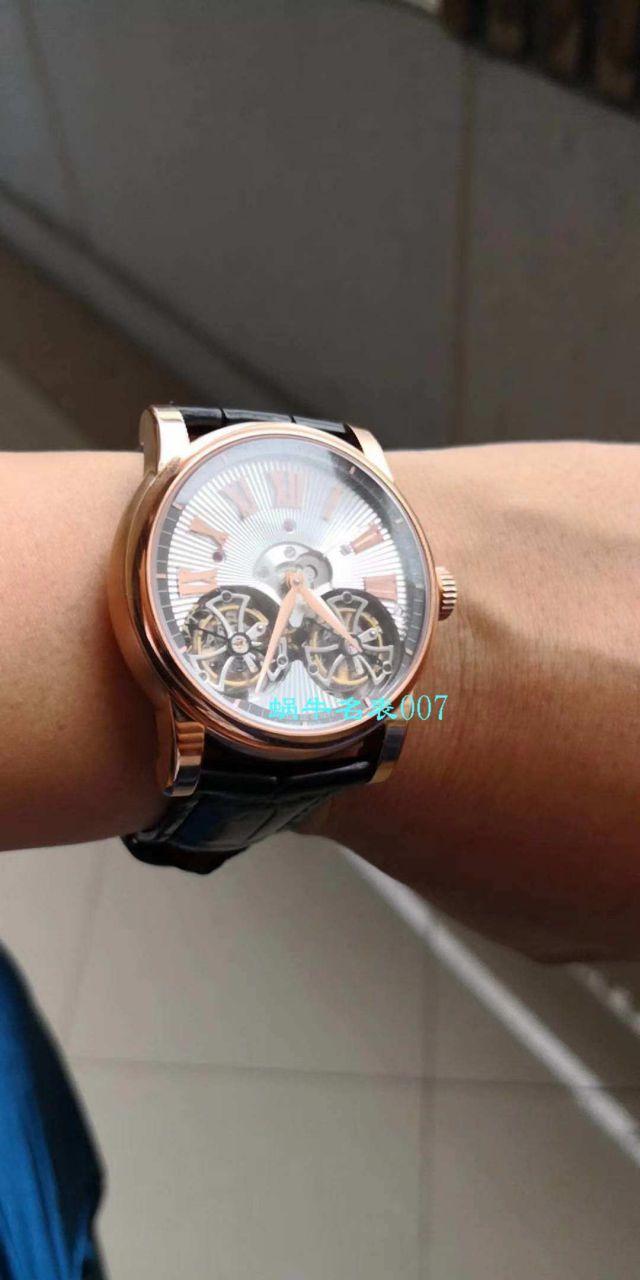 罗杰杜彼致敬系列真双飞轮 行业唯一一款搭载双飞轮的腕表