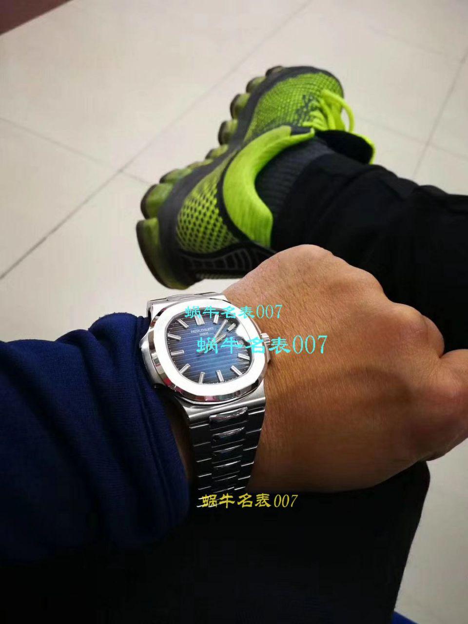【PF一比一超A高精仿手表】百达翡丽Nautilus运动系列5711/1A-011腕表(鹦鹉螺)