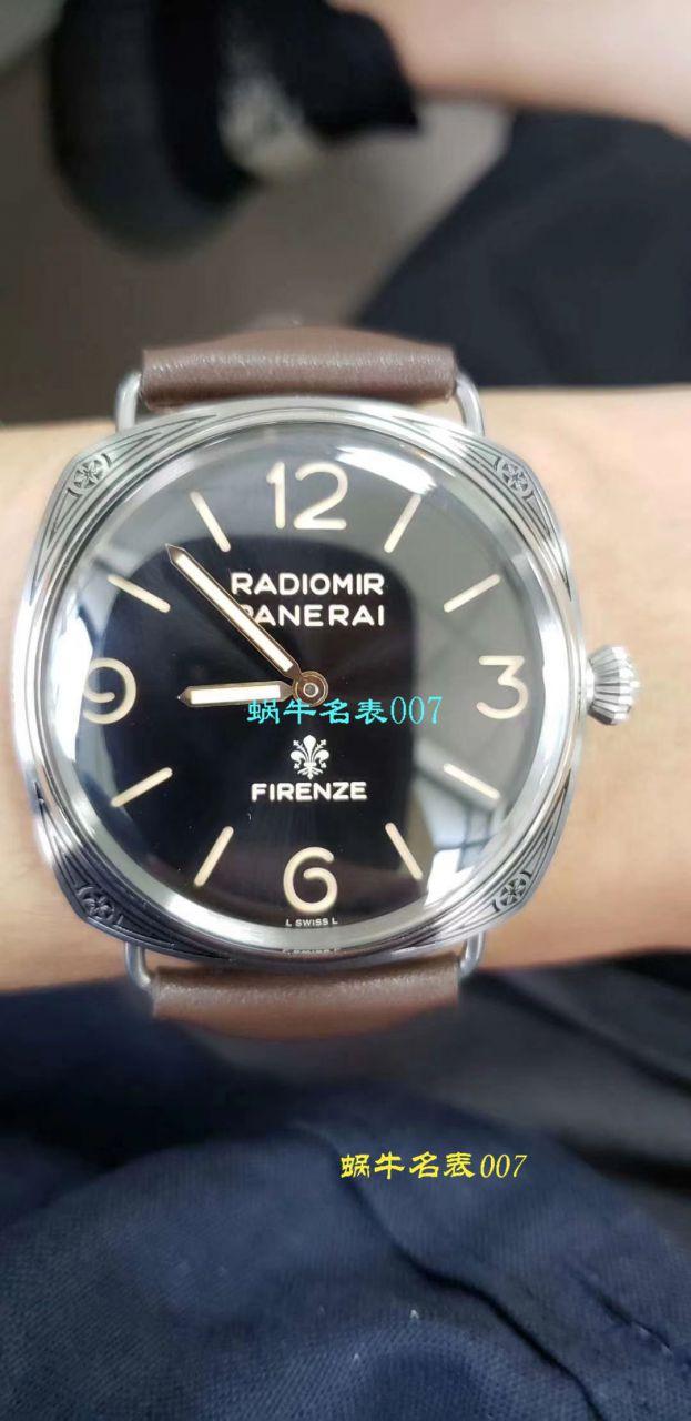 【视频评测SF厂一比一超A高仿手表沛纳海佛罗伦萨限量版PAM00672惊艳亮相