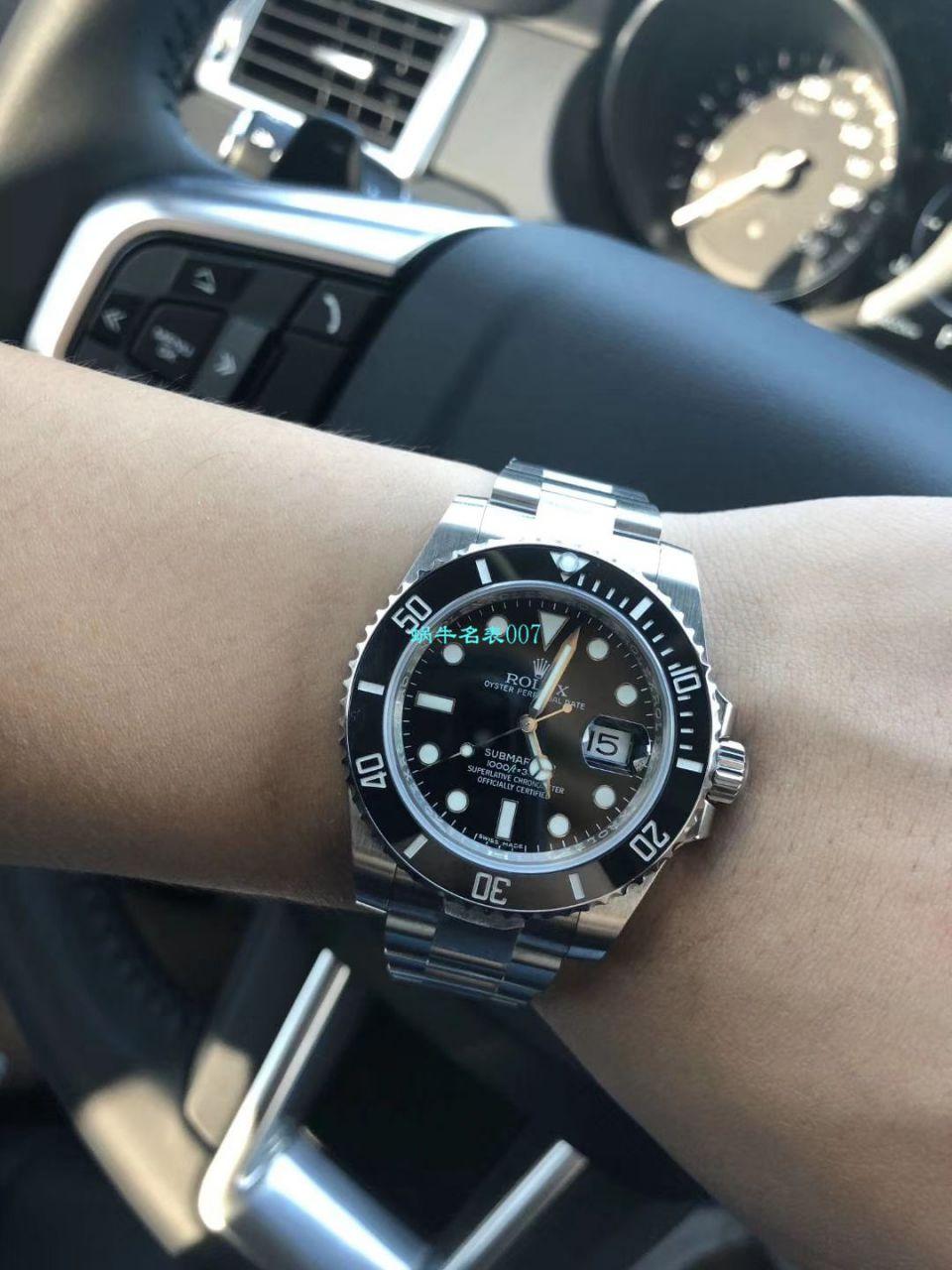 【NOOB厂V9版本904L不锈钢版本】劳力士潜航者型系列116610LV-97200 绿盘腕表(绿水鬼)、116610LN-97200 《黑水鬼》