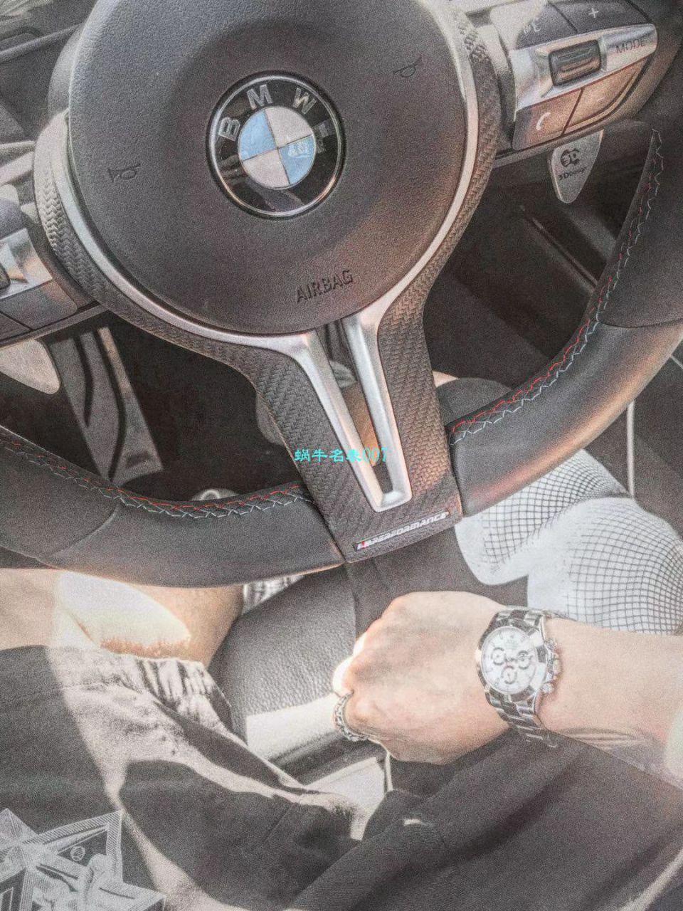 【N厂最新神作~原装结构4130迪通拿】劳力士宇宙计型迪通拿系列116520-78590 黑盘腕表(黑钢迪) / R216