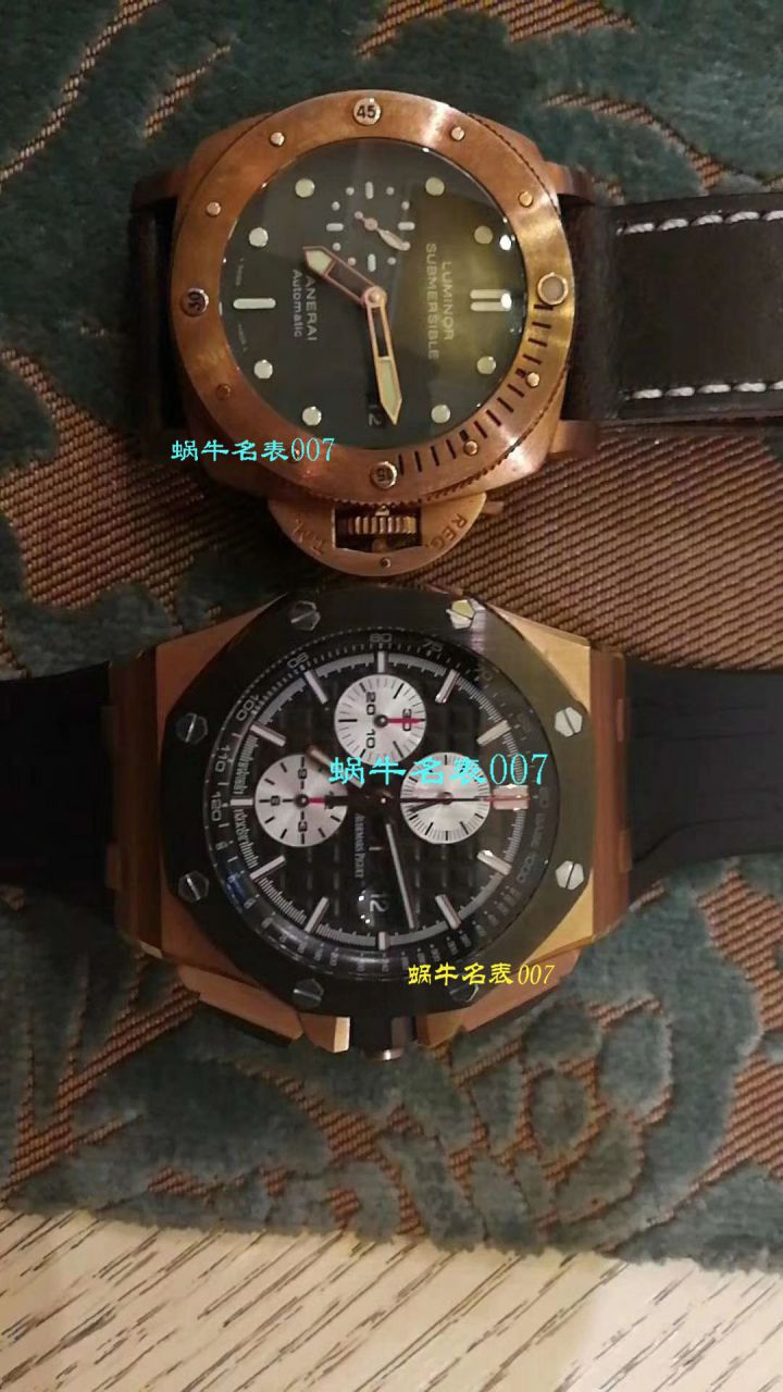 【视频评测JF厂一比一精仿手表】皇家橡树大熊猫金壳26401RO.OO.A002CA.01男表