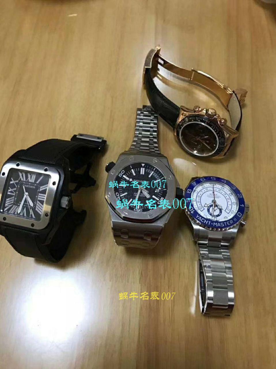 【视频评测】CARTIER卡地亚山度士W20106X8机械女士腕表(V6一比一超A精仿搭配蓝色表带)