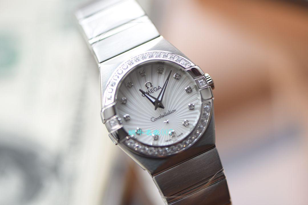 【视频评测SSS厂欧米茄星座复刻手表】欧米茄星座系列131.25.28.60.55.001女腕表