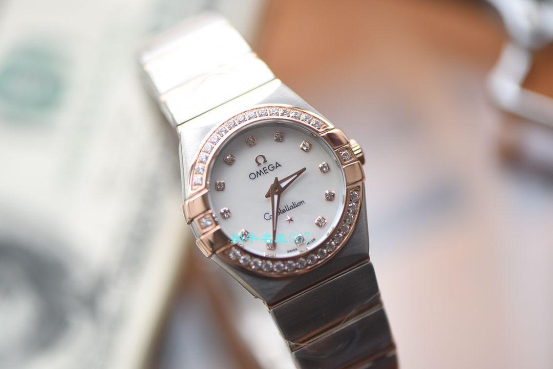 【视频评测SSS厂OMEGA复刻表】欧米茄星座系列123.25.27.60.55.002女士腕表