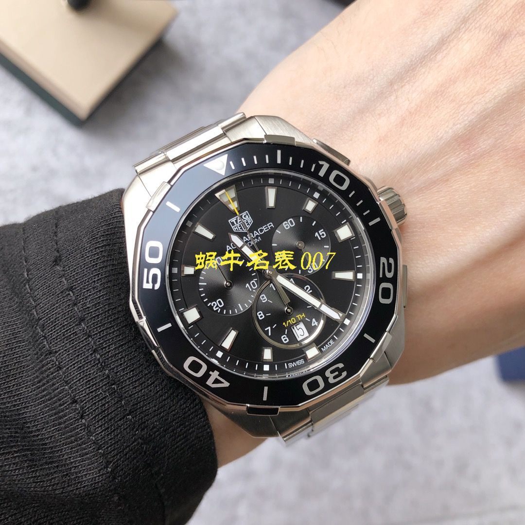 【渠道原单Tagheuer石英计时表】泰格豪雅竞潜系列CAY111B.BA0927,CAY111A.BA0927腕表