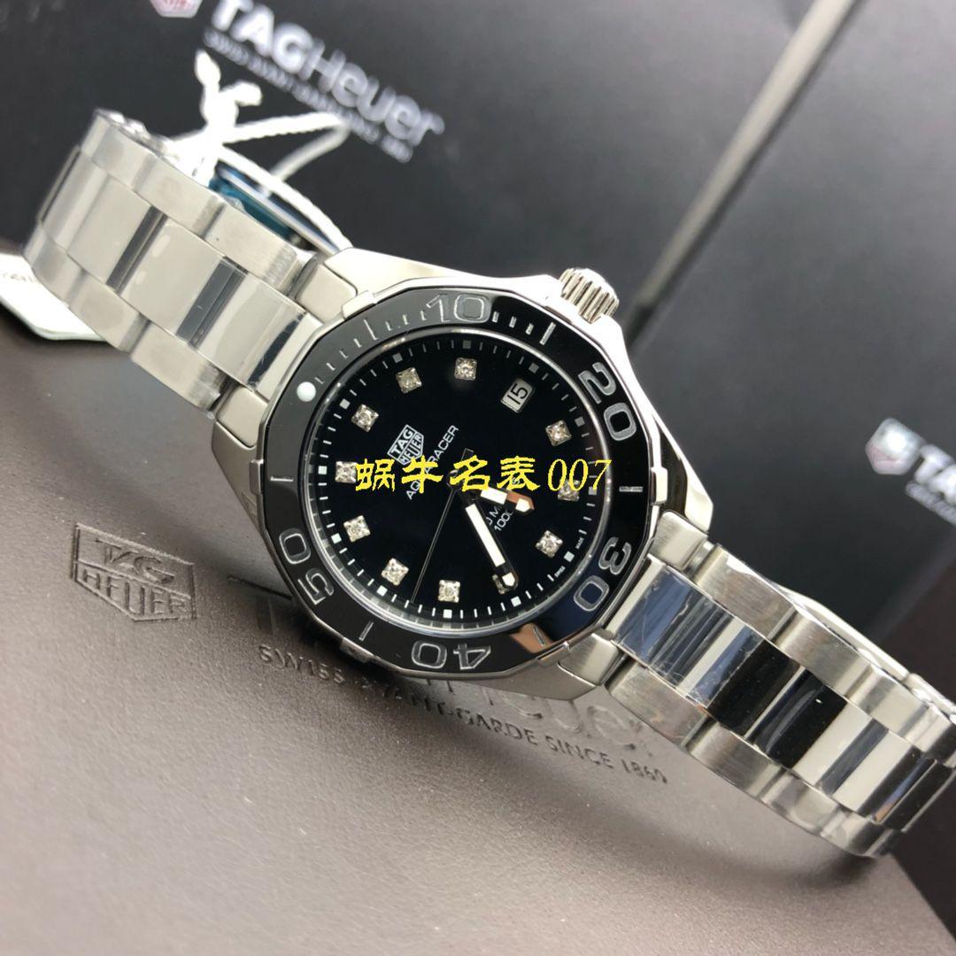 【渠道原单真钻女表】泰格豪雅竞潜系列WAY131L.BA0748,WAY131M.BA0748腕表