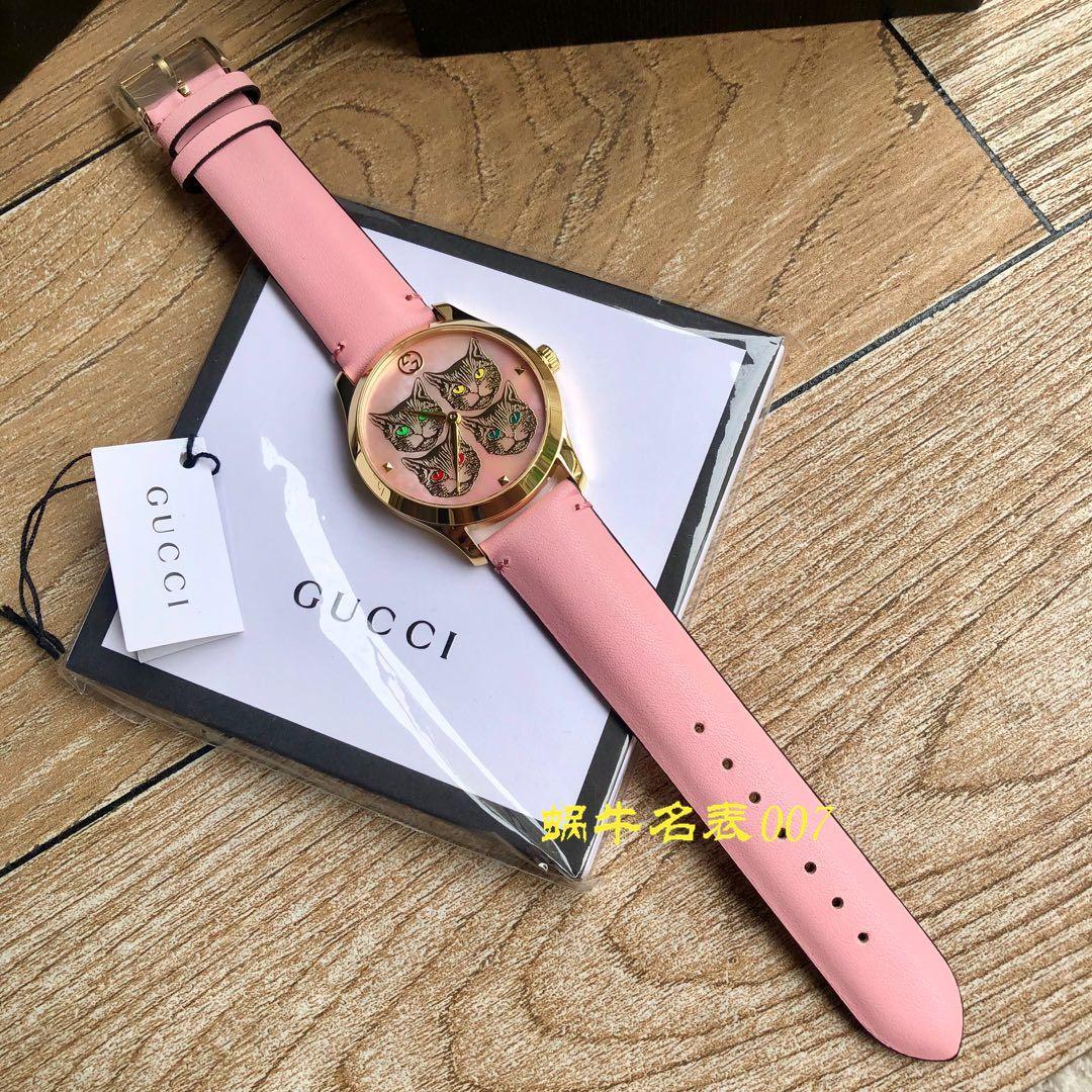 【渠道原单】Gucci古驰猫头鹰G-Timeless 系列女士腕表,38 毫米