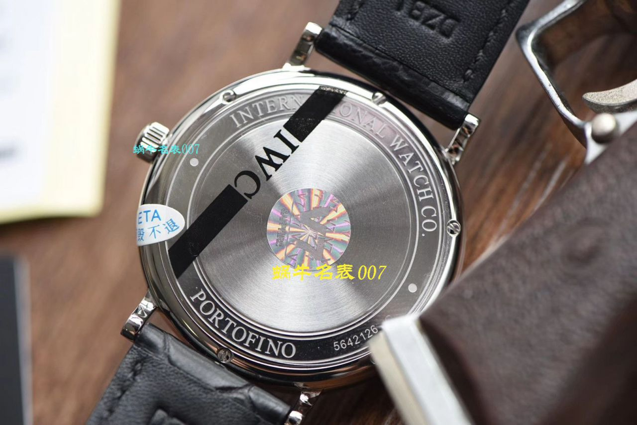 【视频评测V7厂IWC复刻手表】万国表柏涛菲诺系列IW356502腕表