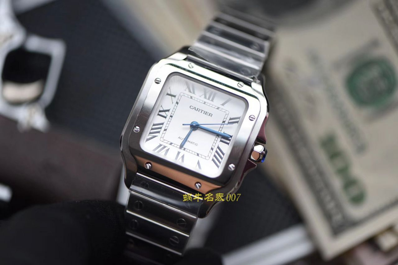 【HBBv6厂1:1复刻卡地亚女表】卡地亚山度士WSSA0010(中号)腕表