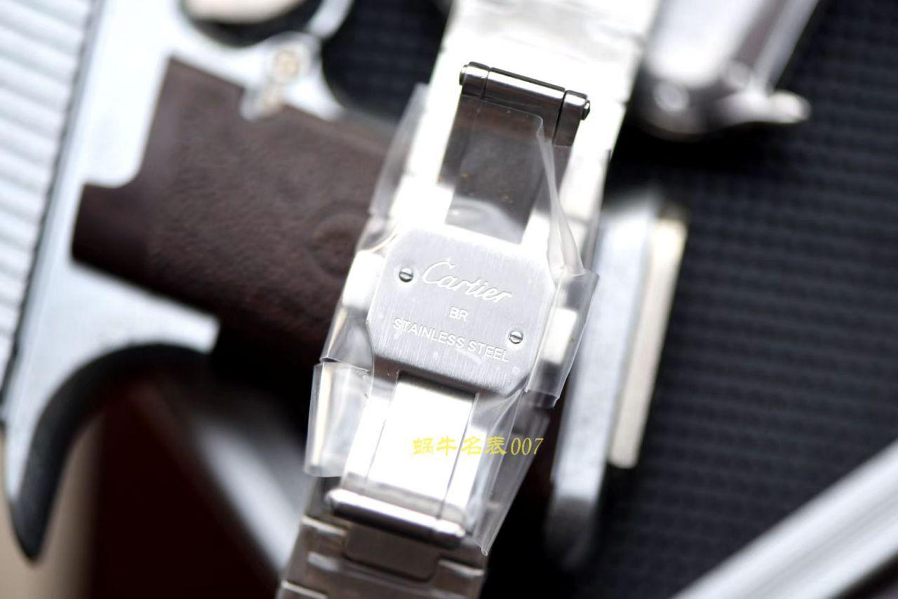 【视频评测V6厂顶级复刻表】卡地亚山度士系列WSSA0009(大号),WSSA0010(中号)腕表 / K226
