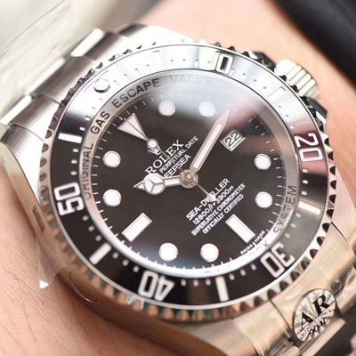 【AR厂顶级复刻手表】劳力士海使型系列116660-98210 黑盘腕表(水鬼王)