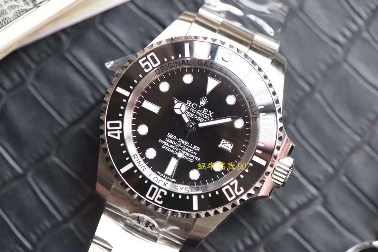 【AR厂顶级复刻手表】劳力士海使型系列116660-98210 黑盘腕表(水鬼王) / R376
