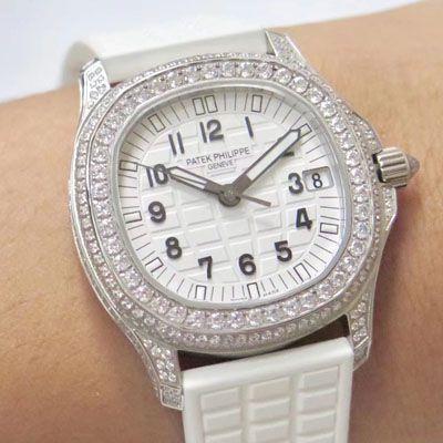 【PPF厂顶级复刻手表】百达翡丽AQUANAUT系列5069G-011 白金腕表