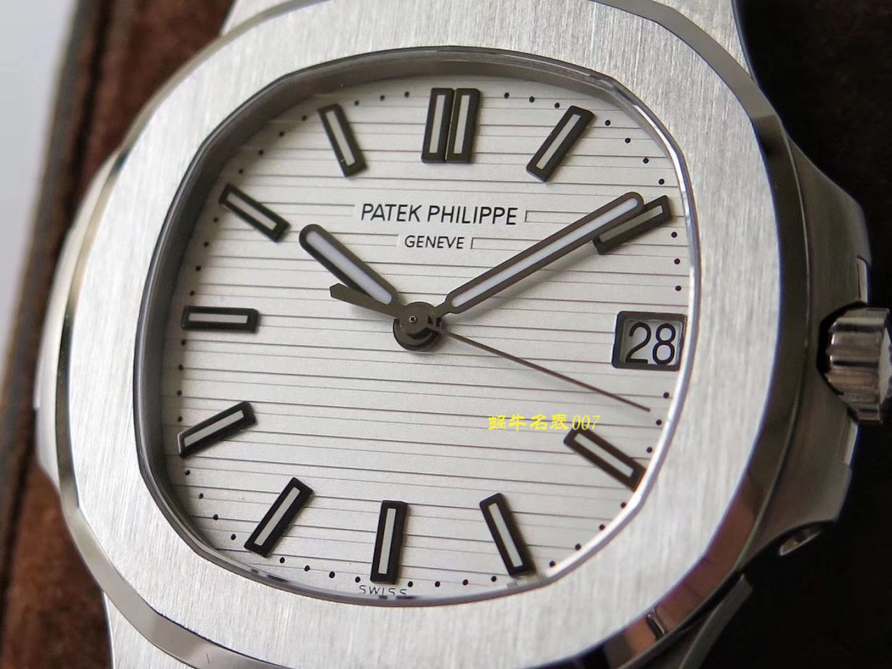 【视频评测PPF厂Patek Philippe复刻表】百达翡丽Nautilus鹦鹉螺运动系列5711/1A-011