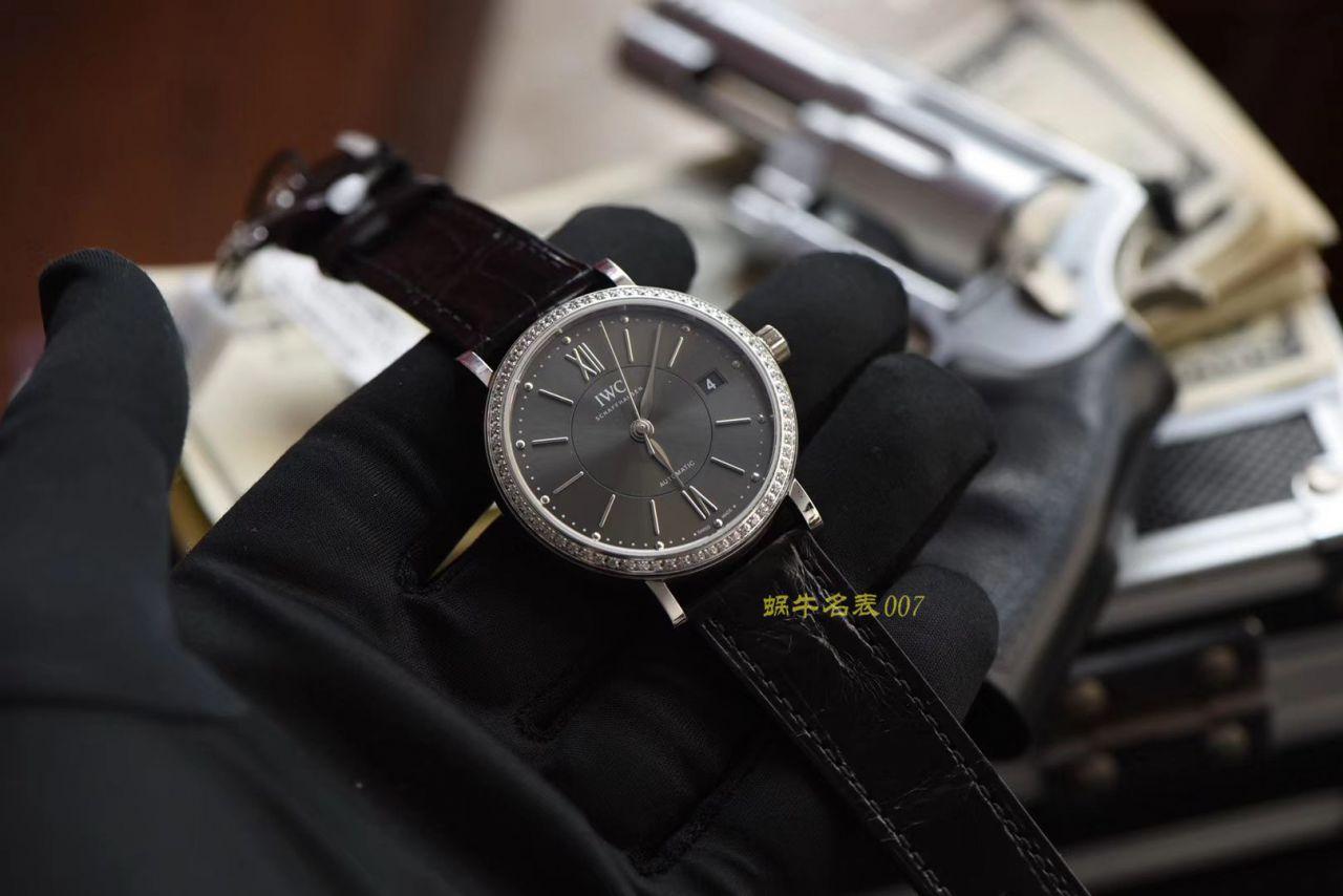【视频评测M+超A高仿万国女表】IWC万国表柏涛菲诺系列IW458104腕表 / M399
