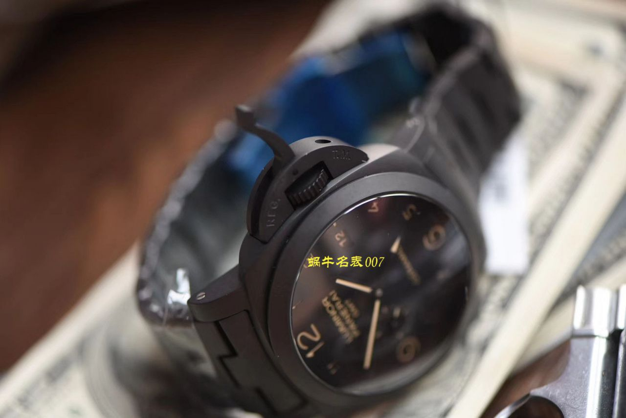 【VS厂Panerai复刻表】沛纳海全陶瓷PAM00438全陶瓷V3版本加强版黑机 / VS438V3