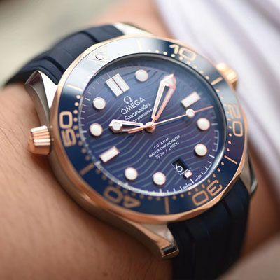 【VS厂顶级复刻手表】欧米茄海马系列210.22.42.20.03.002腕表