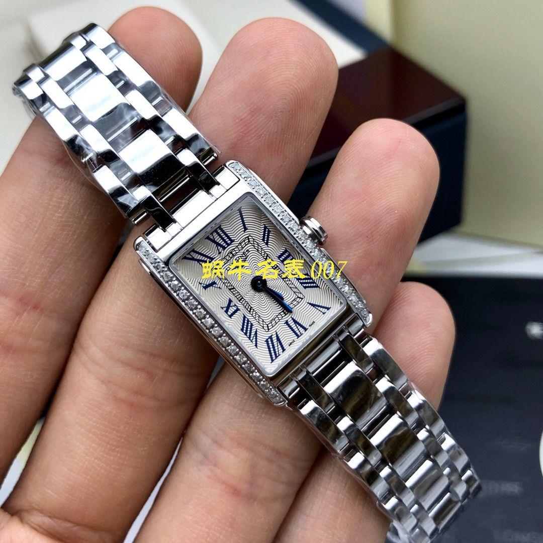 【浪琴渠道原单女士表】浪琴L5.258.0.71.6真钻系列黛绰维纳系列腕表(Longines DolceVita)