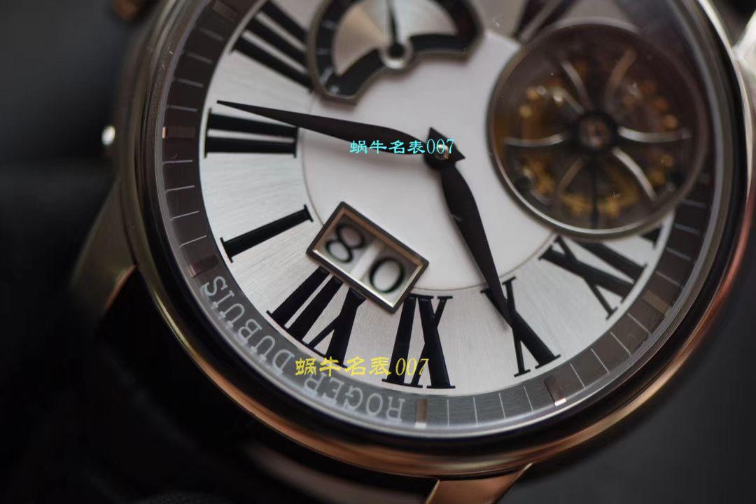 【JB厂Roger Dubuis偏心陀飞轮仿表】罗杰杜彼HOMMAGE(致敬系列)系列RDDBHO0568腕表 / LJ036