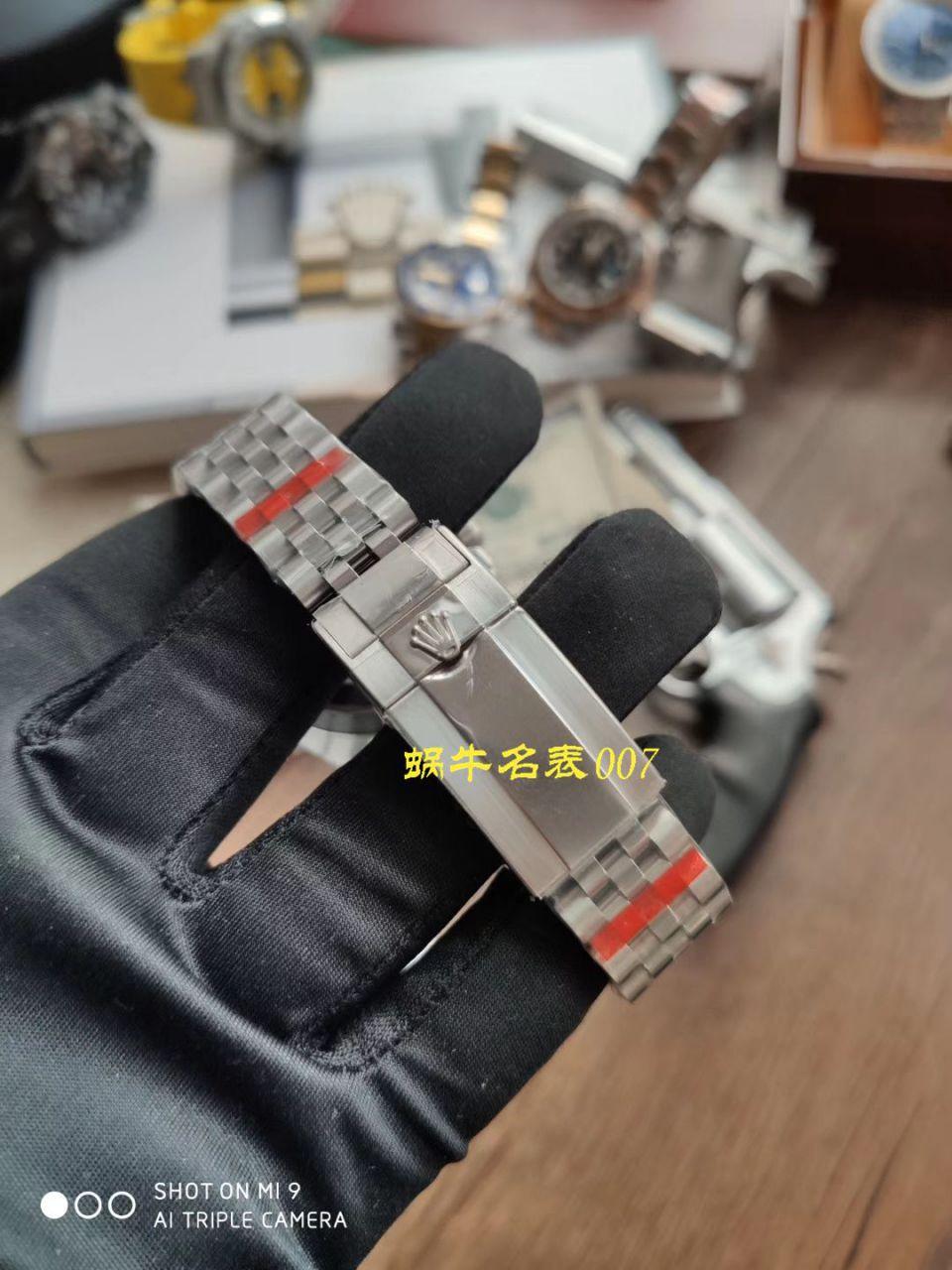 【NOOB厂Rolex顶级复刻手表】劳力士格林尼治型II系列126710BLRO-0001腕表