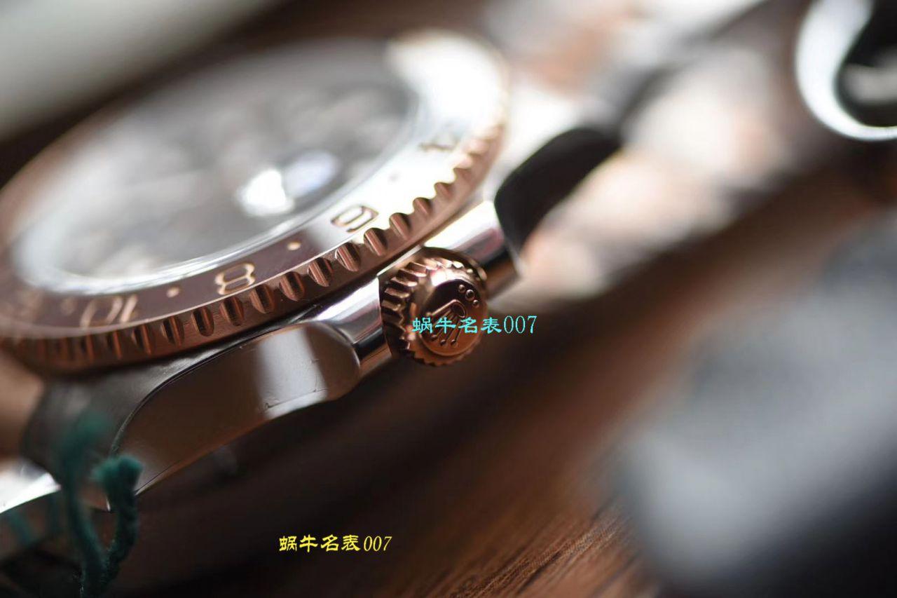 【DJ厂Rolex复刻手表】劳力士格林尼治型IIGMT系列m126711chnr-0002腕表