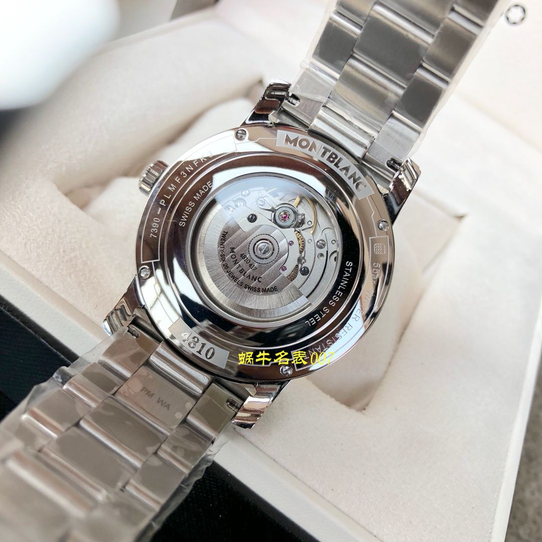 【MONTBLANC渠道原单】万宝龙4810系列U0114854、U0114853腕表