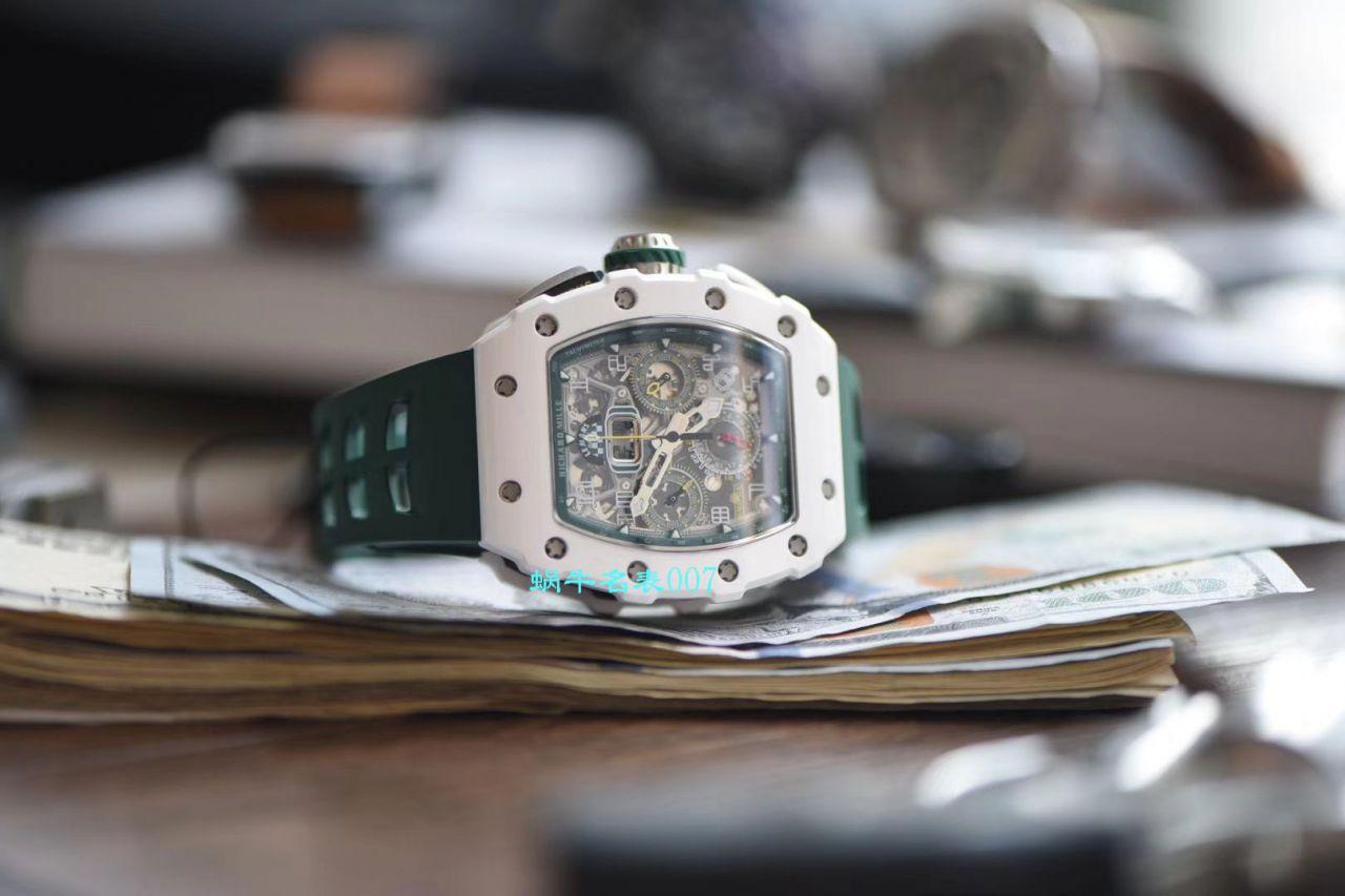 【KV厂理查德米勒复刻手表】Richard Mille理查德米勒RM011-03LMC陶瓷腕表 / KVRM011-03LMC
