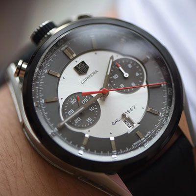 【视频评测V6厂泰格豪雅复刻表】泰格豪雅级卡莱拉赛车限定版CAR2C11.FC6327腕表