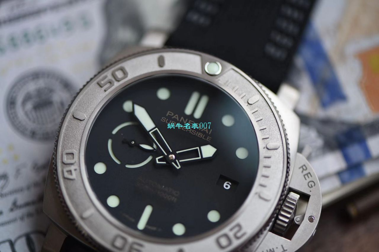 【VS厂Panerai复刻仿表】沛纳海SUBMERSIBLE 潜行系列PAM00984腕表