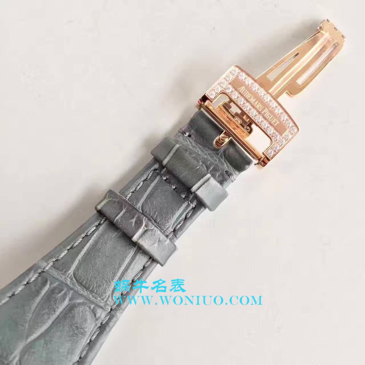 【视频评测JF厂Audemars Piguet复刻手表】爱彼皇家橡树系列15402OR.ZZ.D003CR.01腕表